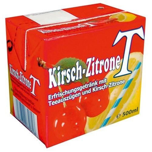 Eistee Kirsch-Zitrone