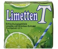 Eistee Limetten