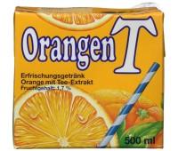 Eistee Orangen
